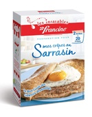 Francine  Les inratables mes Crêpes au Sarrasin