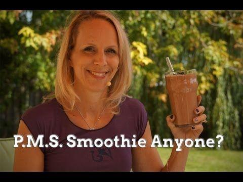 Y.U.M.!!!! Brownie Batter Smoothie - PMS Smoothie from @Melissa West