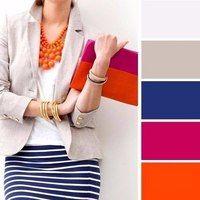 Combinación de colores en contraste