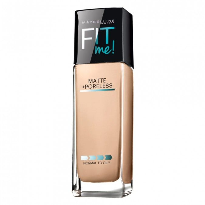 Fit Me! Matte + Poreless from Maybelline New York goes beyond skin tone matching to fit the unique texture issues of normal to oilyskin for the ultimate natural skin fit.
