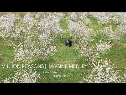 Million Reasons / Imagine Piano Medley by Phil Thompson (Lady Gaga & Joh...