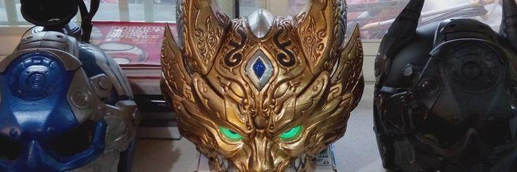 3D print art work Hero style helmet  https://www.facebook.com/Arton3D/