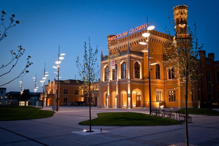 Central Station in Wrocław