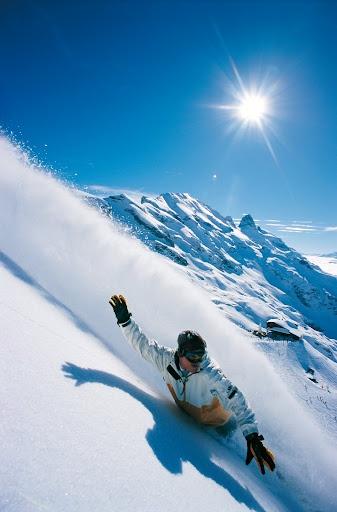 Snowboarden!