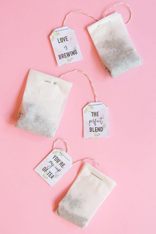 25 best ideas about tea bag favors on tea