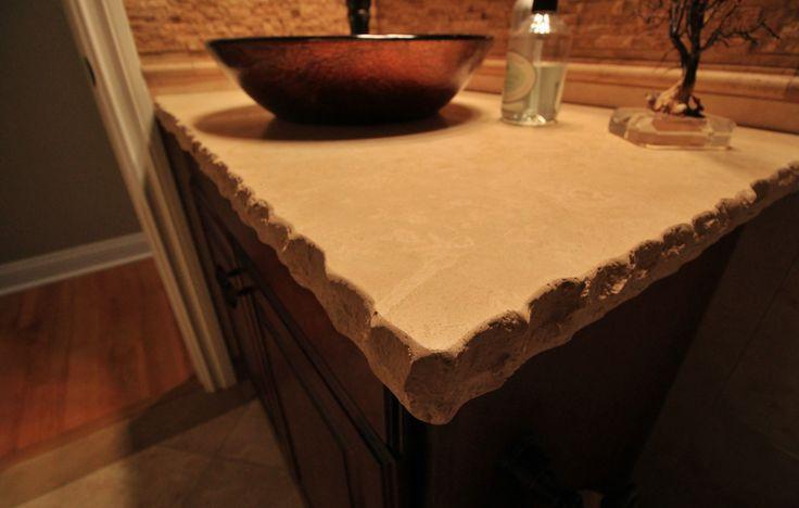 Travertine Stone Countertops : Best travertine countertops ideas on pinterest