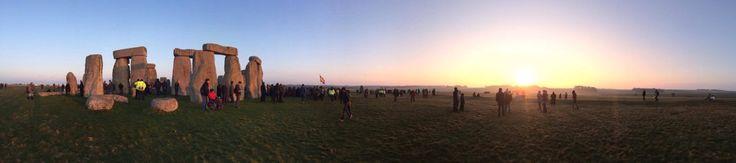 Spring equinox 2015 Stonehenge UK