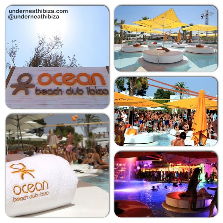 Ocean Beach Club... http://underneathibiza.com/2013/04/08/ocean-beach-club/ #Luxury #Lounge #Ibiza