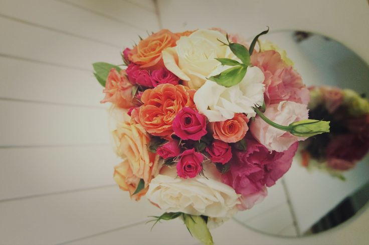 bouquet novia colorido y alegre
