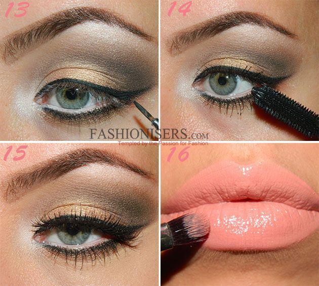 Best Ideas For Makeup Tutorials    Picture    Description  Earthy Makeup: Gold & Brown Eye Makeup Tutorial    - #Makeup https://glamfashion.net/beauty/make-up/best-ideas-for-makeup-tutorials-earthy-makeup-gold-brown-eye-makeup-tutorial/