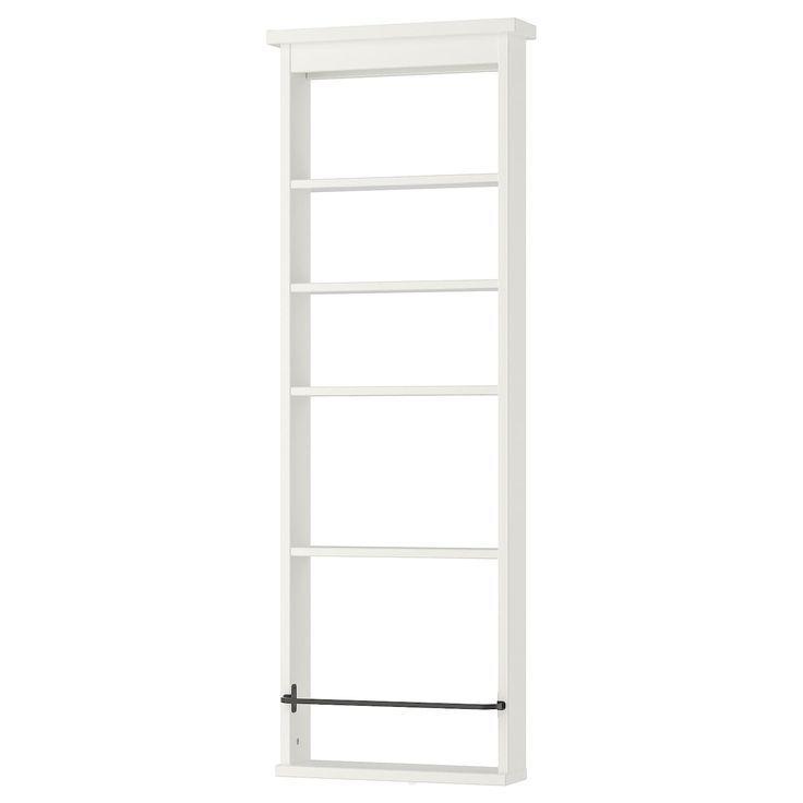 Ikea Hemnes Wandregal Weiss Perfekt In Einem Kleinen Bad Da