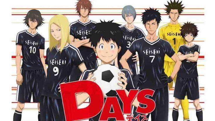 Days Subtitle Indonesia Batch - http://drivenime.com/days-subtitle-indonesia-batch/   Genres: #School, #Shounen, #Sports   Sinopsis Bercerita tentang dua anak laki-laki bernama Tsukushi dan Jin. Tsukushi adalah anak laki-laki dengan bakat spesial sementara Jin dianggap jenius di sepakbola. Pada satu malam badai, Jin bertemu Tsukushi, dan mereka terseret ke dalam dunia sepakbola. Informasi Type: TV Episodes:--------  Type: #Anime, #Batch, #TV