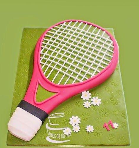 Bolos da tia Milu: Para uma tenista                              …