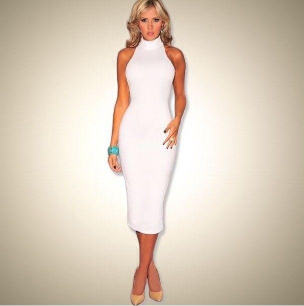 Dámské dlouhé šaty s vysokým límcem bílé – dámské šaty + POŠTOVNÉ ZDARMA Na tento produkt se vztahuje nejen zajímavá sleva, ale také poštovné zdarma! Využij této výhodné nabídky a ušetři na poštovném, stejně jako …