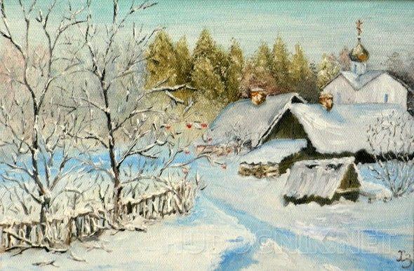 """""""Зима. Деревня"""""""