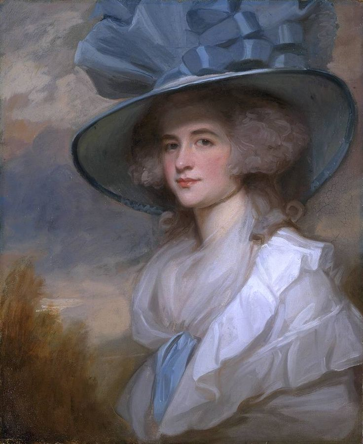 The Athenaeum - Mrs Robert Trotter of Bush (George Romney - ) 1788-1789