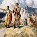 Attentiveness lesson plans:  Five Senses, Frontiersmen & Tracking, Indians, Birds.