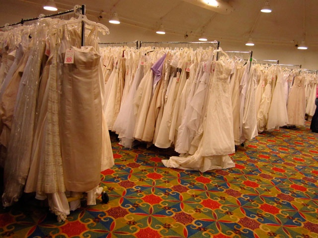Amazing Gown sale at Brides Against Breast Cancer from Keeping it Green After the Wedding