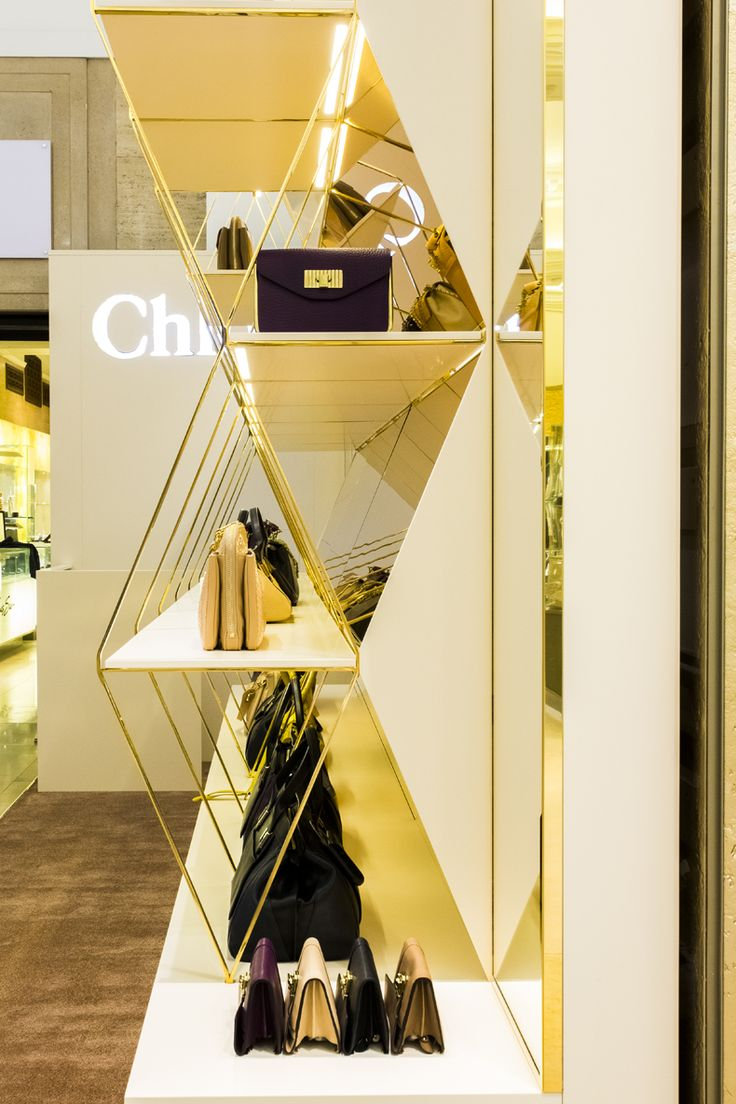 Chameleon Design. Pop Up Chloe shop in Harrods, August 2013.