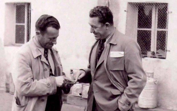 Adolf e Rudolf Dassler, creatori di Adidas e Puma