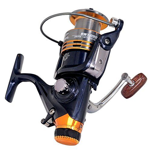 Comprar carrete de spinning bntteam 13BB One Way embrague tamaño 10007000Full Metal carrete Spinning Carrete de pesca carpa pesca rueda Spinning Reel pesca 2000 Series