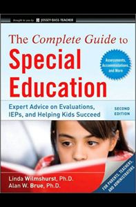 The Complete Guide to Special Education  https://www.pdresources.org/course/index/1/1123/The-Complete-Guide-to-Special-Education