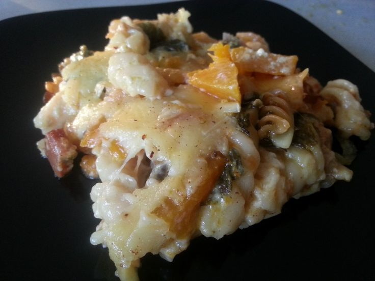 Creamy Chicken Pasta Bake |