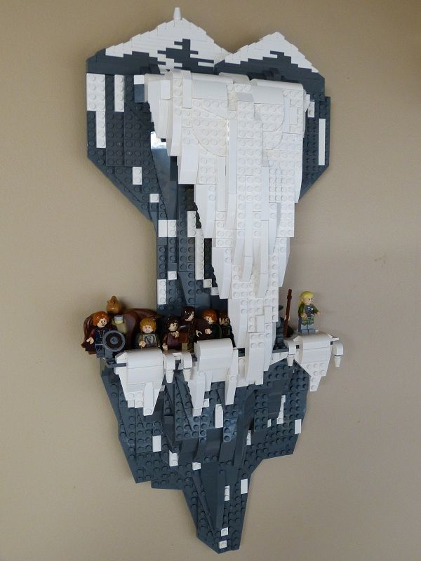 LEGO Lord of the Rings - Path of Caradhras wall art
