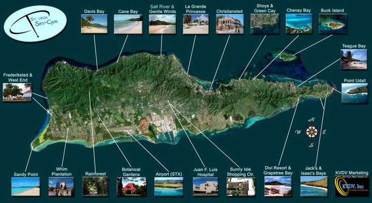 aerial st croix map us virgin islands if youre looking for a good