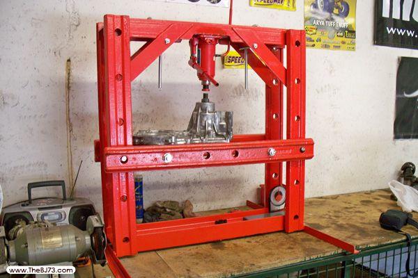 Fabrication d une presse hydraulique