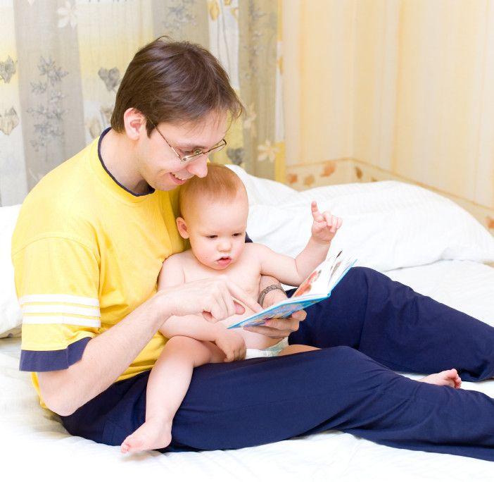 Cómo leer a un bebé. Consejos para elegir cuentos para bebés
