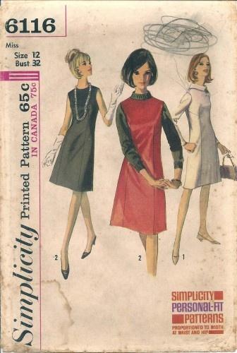 60s a-line dress