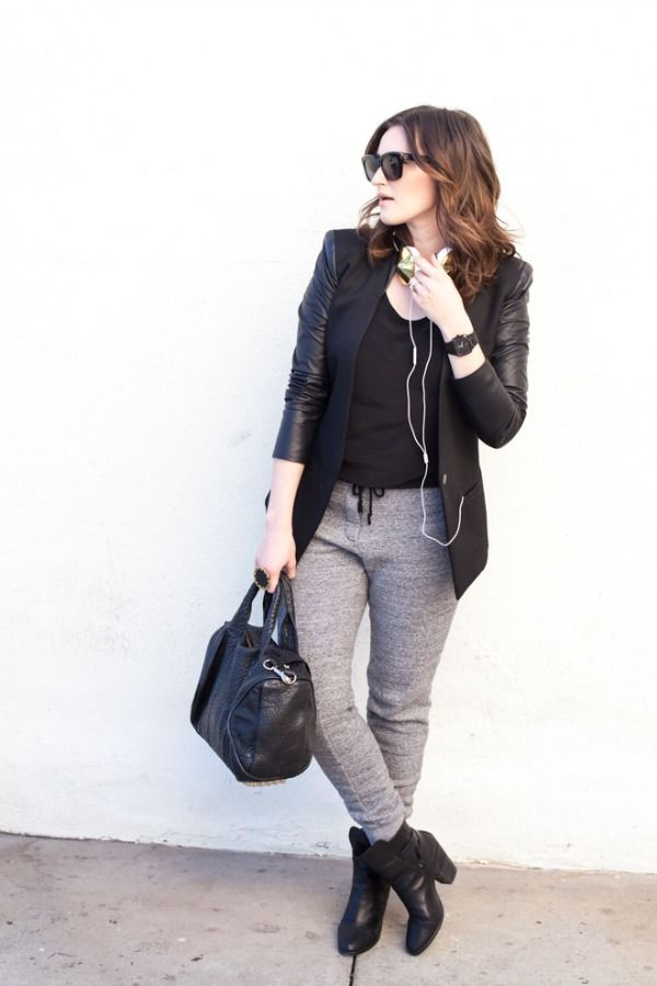 Dressy sweatpants   Weekend To-Do | Queen of the Quarter Life Crisis