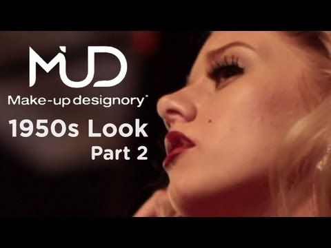 50s Makeup Tutorial - Marilyn Monroe - Part 2
