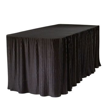 Need a nice looking table cloth? who knew? Costco The