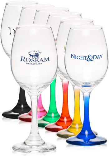 Custom 10 oz. Rioja White Cheap Wine Glasses – From $0.93 Per Glass