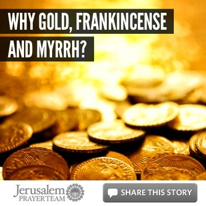 Why frankincense and myrrh
