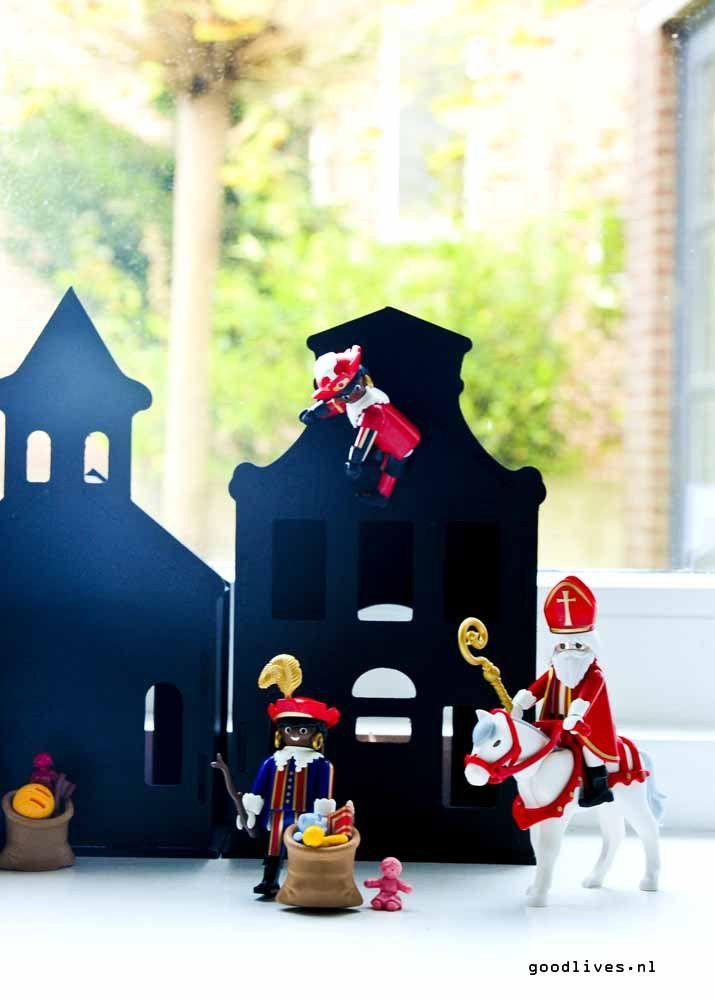Playmobil, Sinterklaas en Zwarte Piet.