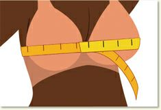 How to Measure Your Bra Size - Linda's Bra Size Calculator
