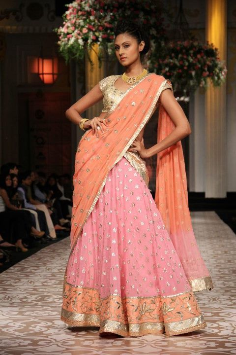 Aamby Valley Indian Bridal Fashion Week 2012 Azva and Anita Dongre. Again, in love with the summer colors.