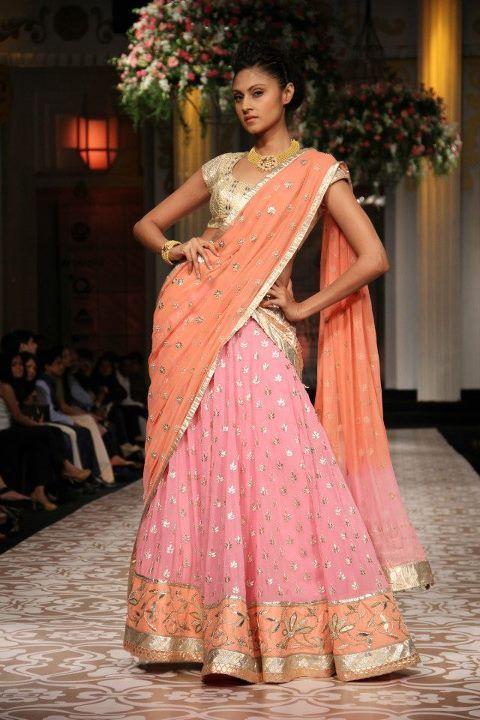 Aamby Valley Indian Bridal Fashion Week 2012 Azva and Anita Dongre
