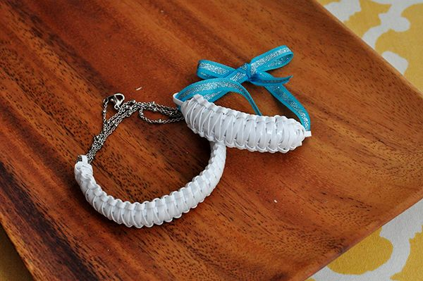The Cheese Thief: How to Make a Lanyard Bracelet with Metal Finishing