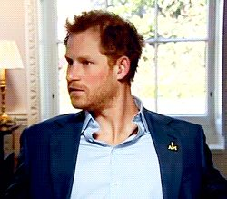 Prince Harry interview.