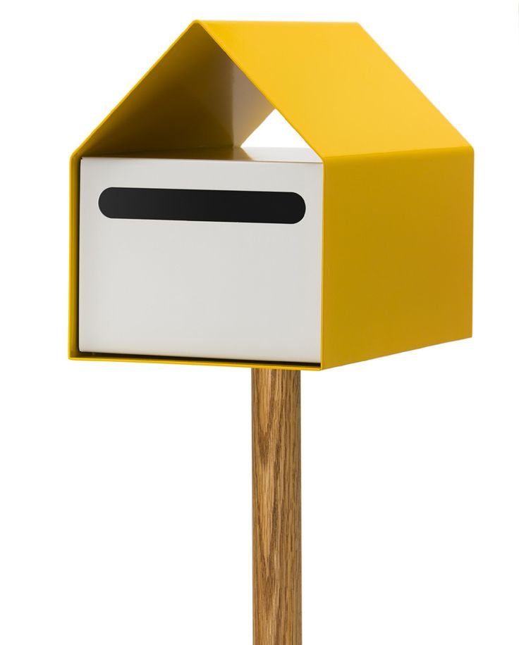 ARKO LETTERBOX - YELLOW/WHITE
