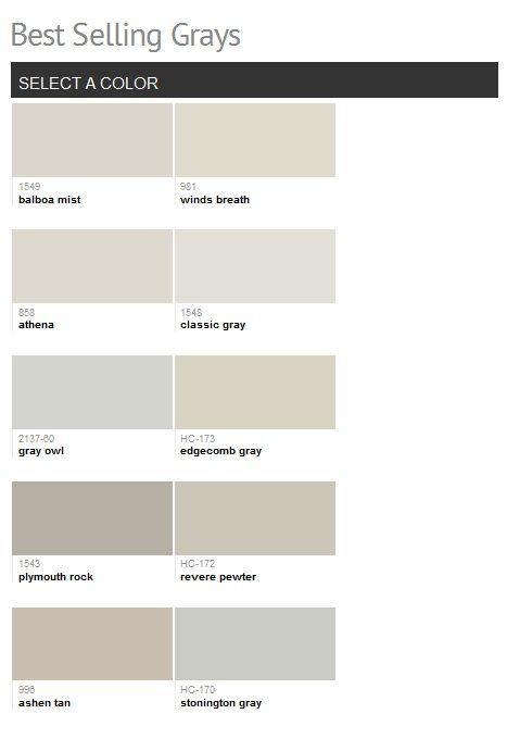 benjamin moore best selling grays love the classic gray