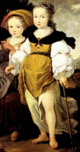 Liselotte von der Pfalz, Elisabeth-Charlotte du Palatinat d'Orleans, Madame (1652-1722), second wife of Philippe I d'Orleans, circa 1650's, German school