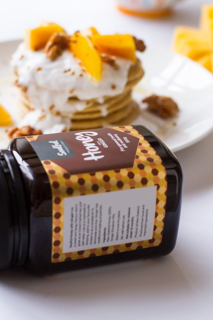 With a pleasantly sweet and slightly spicy flavour, it is great added to your favourite tea or chai.  Soulful Honey with Ginger can be added to your favourite recipes or used in marinades and dressings. #recipe #honey #ginger #soulful