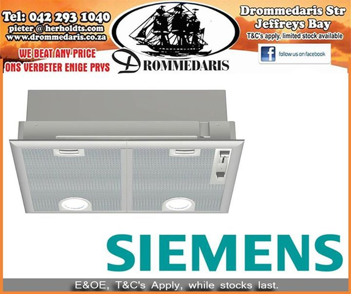 We stock high quality products to improve your household. This Siemens Extractor Fan Canopy Hood has 3 speed plus intensive settings and a sliding switch control for extractor speeds and light. Click here to read more about this item, http://apost.link/2Ve. #drommedaris #homeimprovement #lifestyle