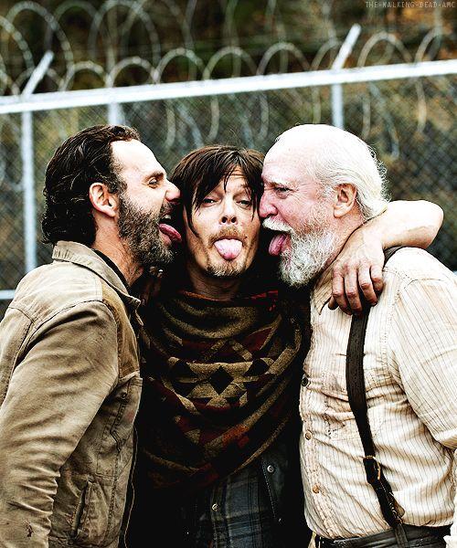 my favorite boys from the Walking Dead....eeeeeeeeee!!!