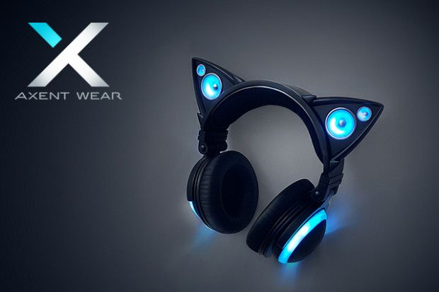 The latest fusion of fashion and functionality with external cat ear speakers and LED lights.